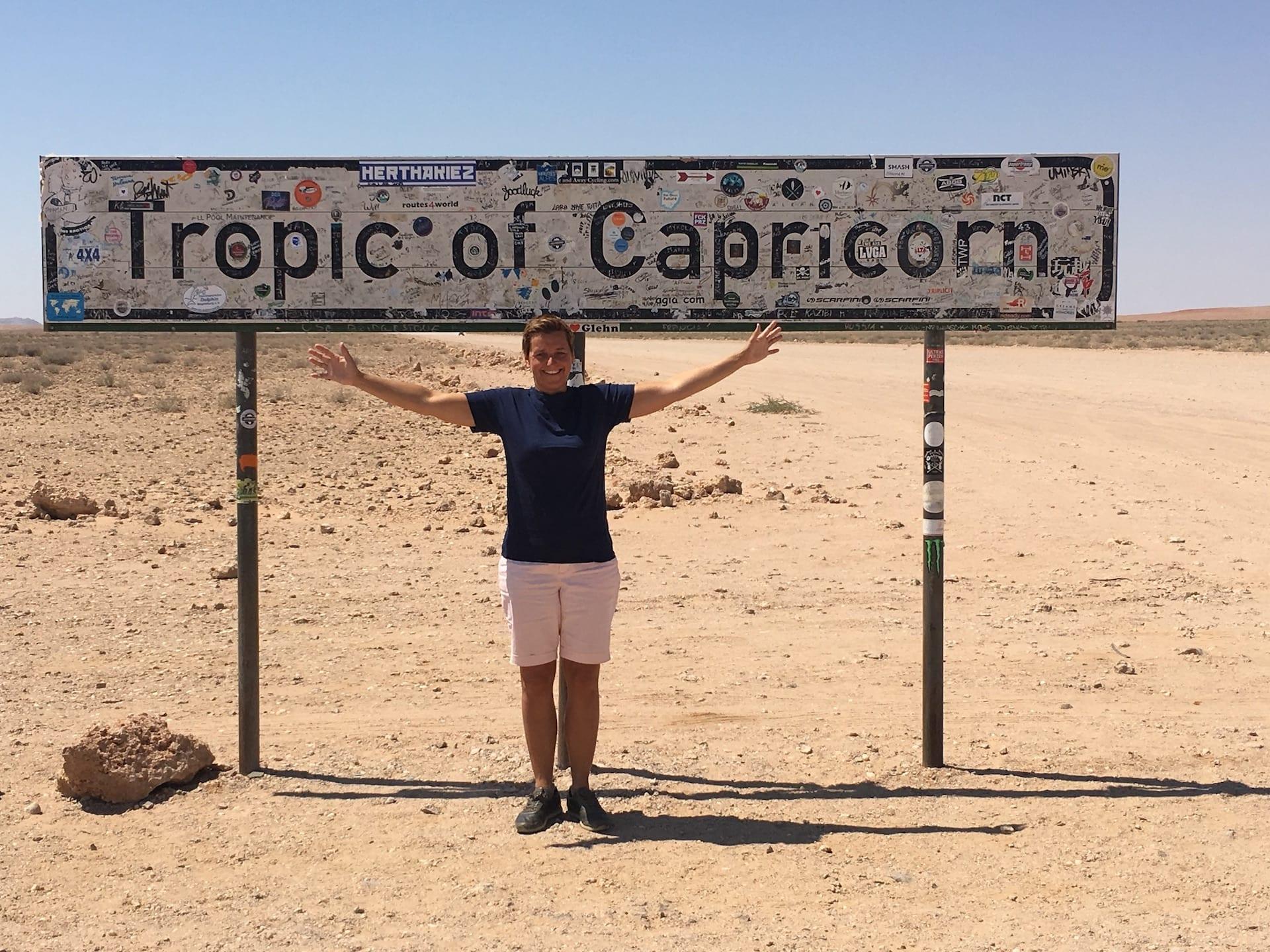 ALGEMEEN - NAM - onderweg Swakop-Sesriem - capricorn Lein - 2018