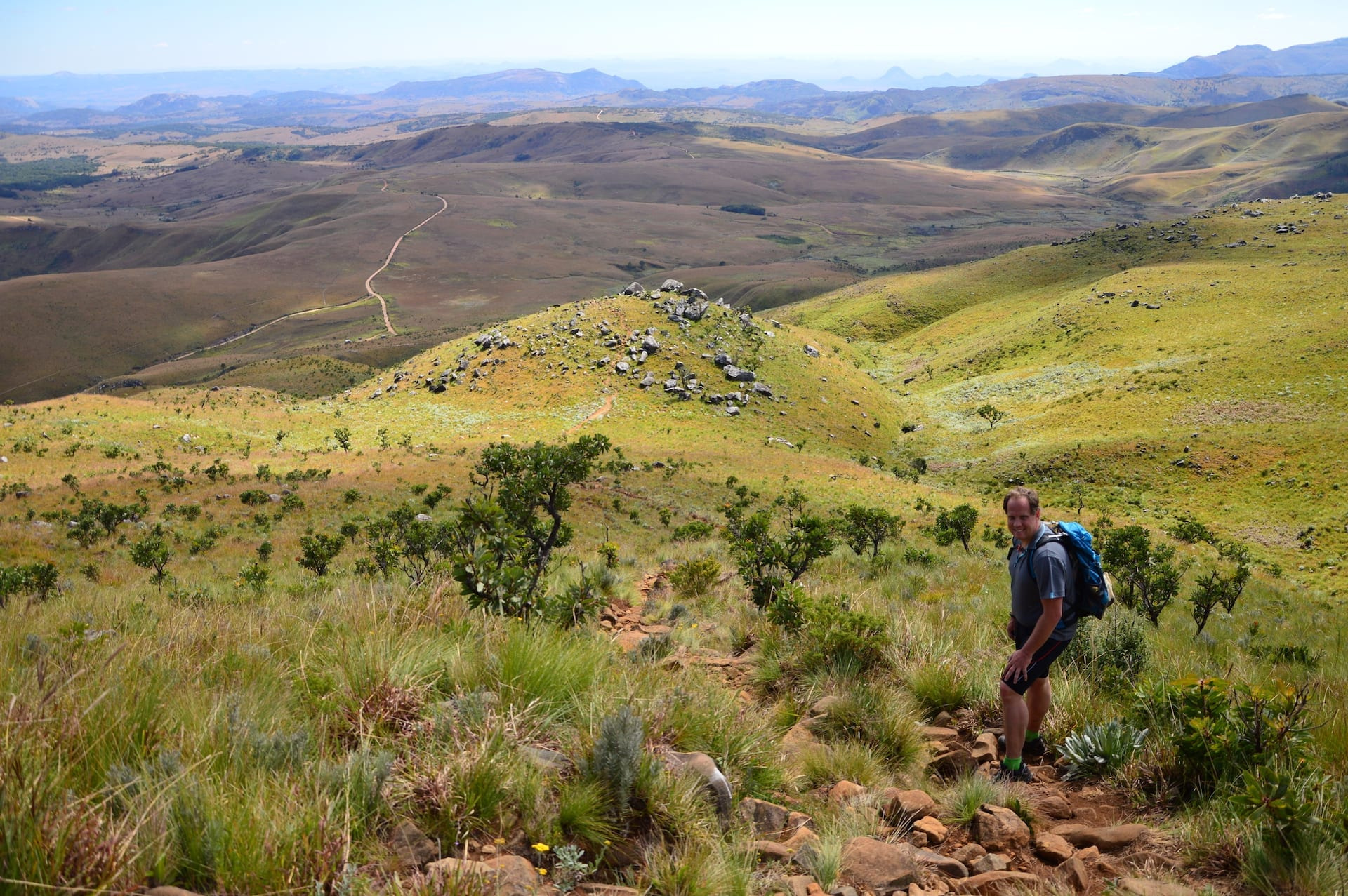 ACTIEF - ALGEMEEN - wandeln in Nyanga NP Zimbabwe 0517