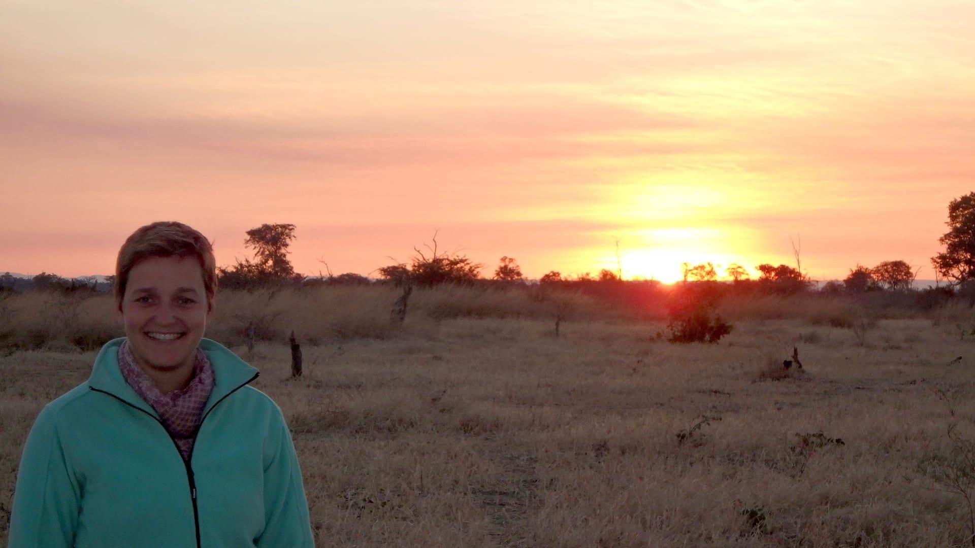 ALGEMEEN - ZAM - Zonsondergang in Zambia