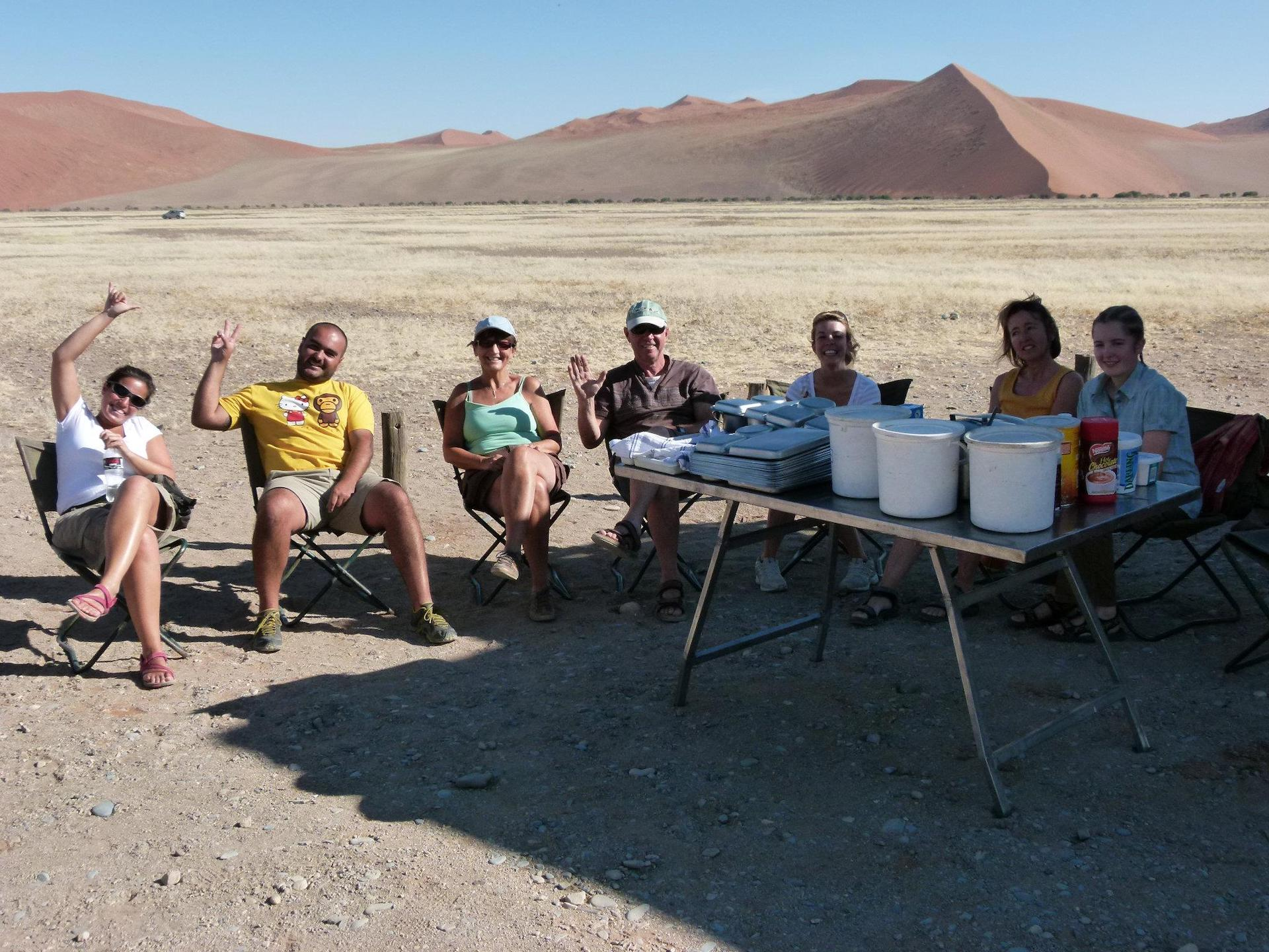 NAM 5 - ALGEMEEN - Lunch at the Dunes