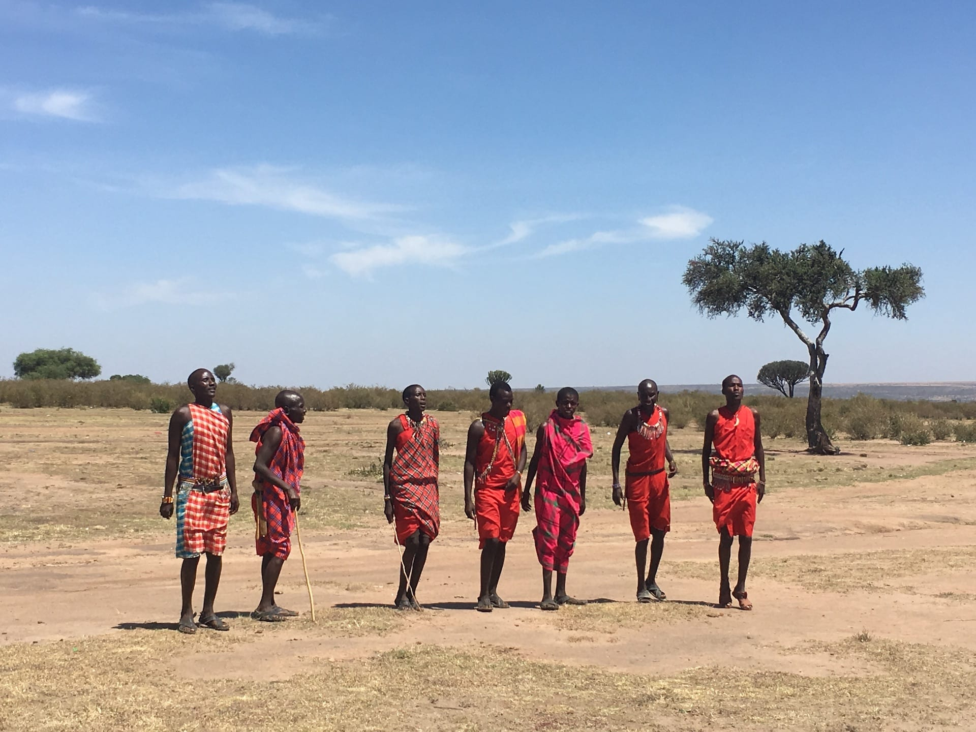 OVERIGE LANDEN - ALGEMEEN - Kenia - mensen Masai - IMG_2945