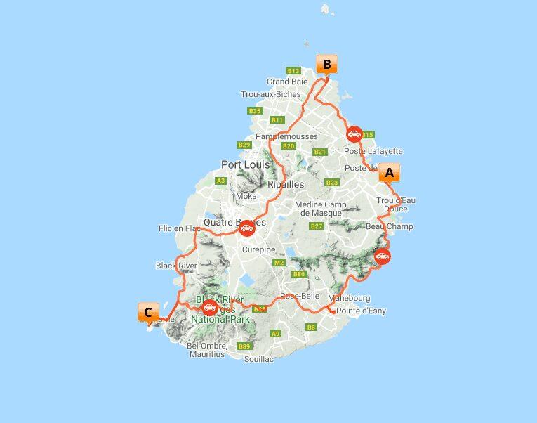 MAP MRU 2 Luxe Mauritius