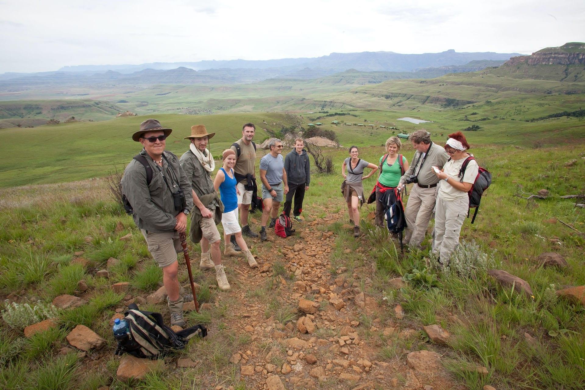 # FOTO - Drakensberg Hike View