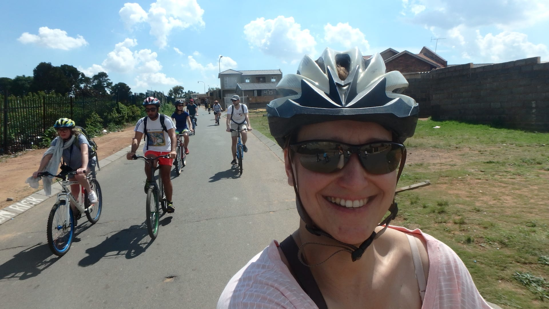 Fietsexcursie in Soweto, Johannesburg