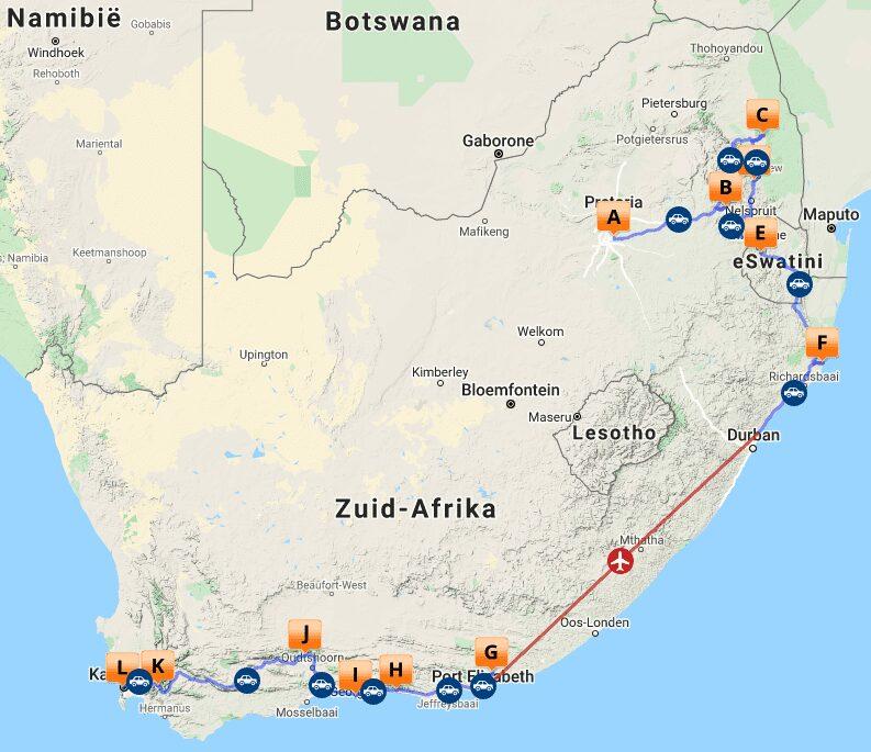 # MAP ZA 1