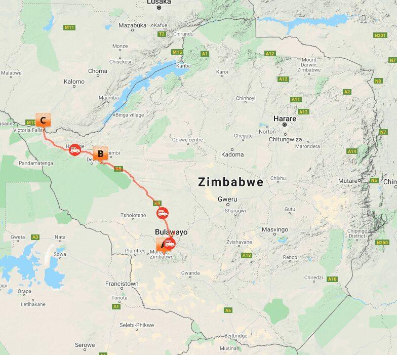 # MAP ZIM 3 -