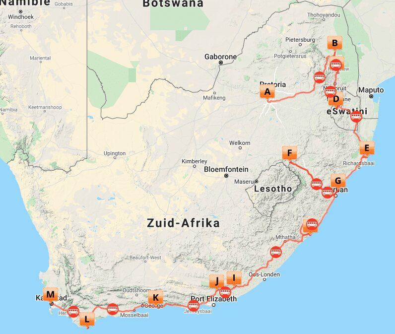 # ZA 10 MAP