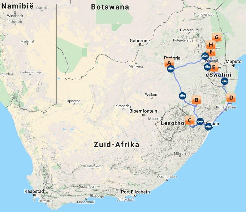 # ZA 11 MAP