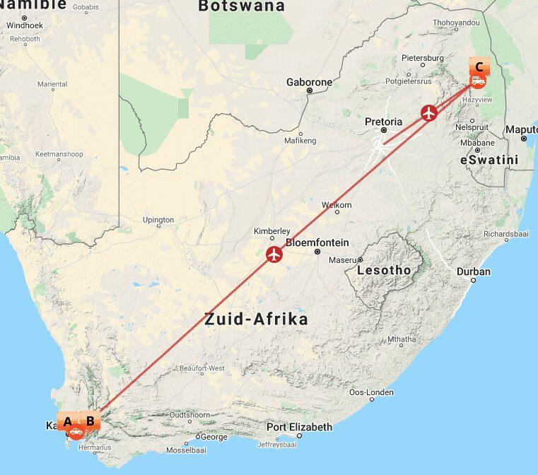 ZA 17 Map