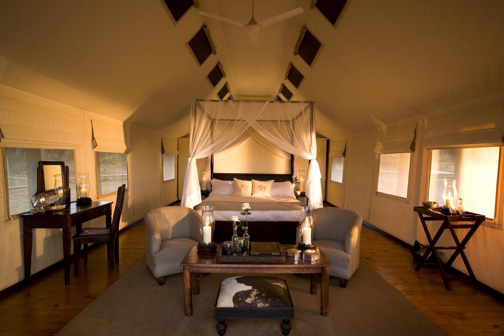 # ZA 18 - GEC Luxury Tent Interior Landscape