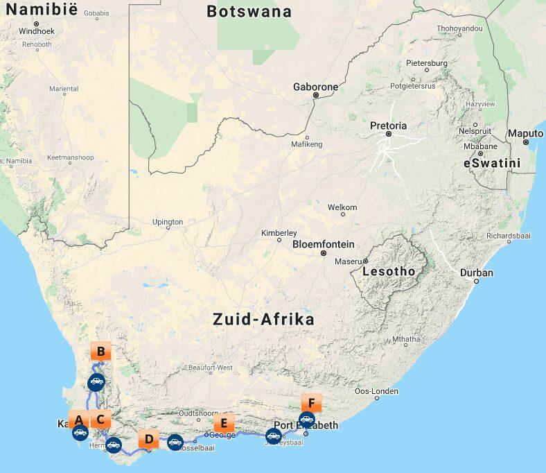 # ZA 18 Maps