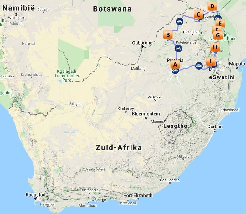 # ZA 8 MAP