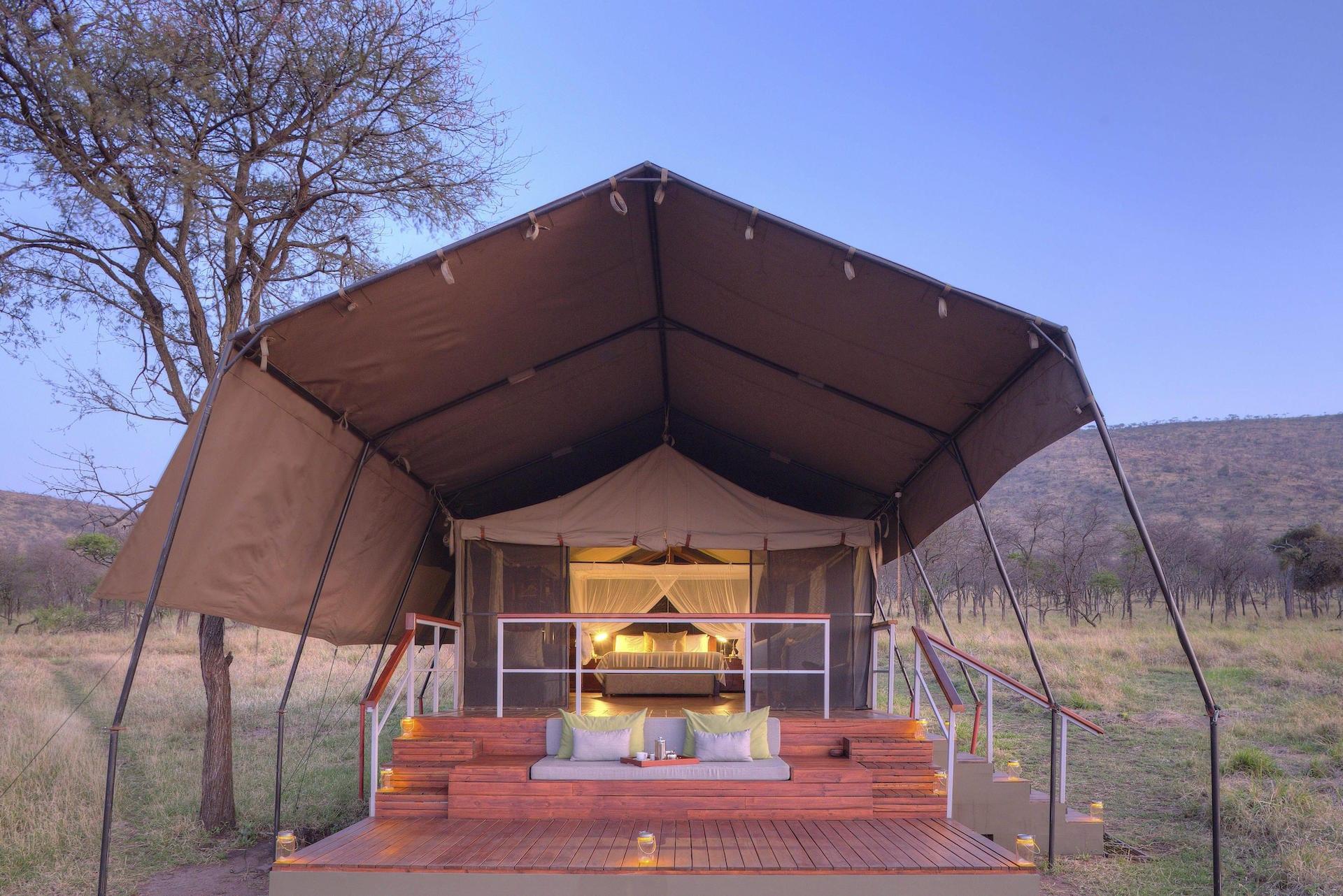 TZ 2 - Dunia Tent exterior